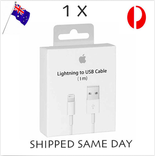 Genuine Apple Cord Lightning Data Cable Charger iPhone 5 S C 6 7 iPad Charging