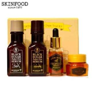 SKINFOOD BEST ITEMS TRIAL KIT 4 ITEMS