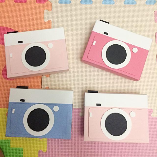 手工卡片👾可愛相機盒子