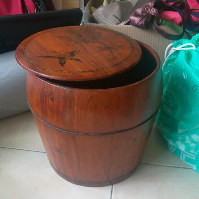 復古風收納桶