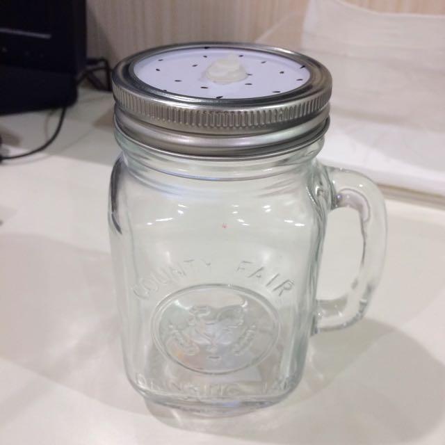 公雞梅森玻璃瓶