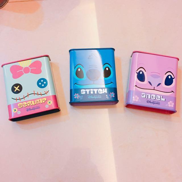 香港迪士尼 史迪奇糖果盒