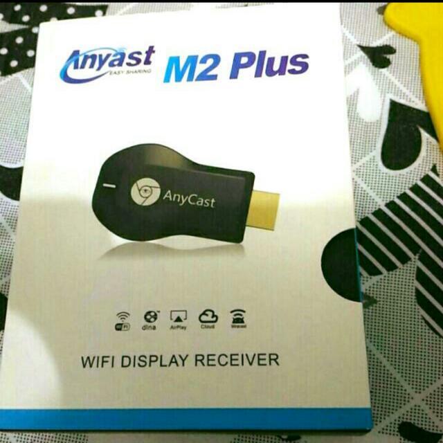 第二代 Anycast M2 Plus 升級版 Chromecast HDMI 手機串流 多媒體播放器