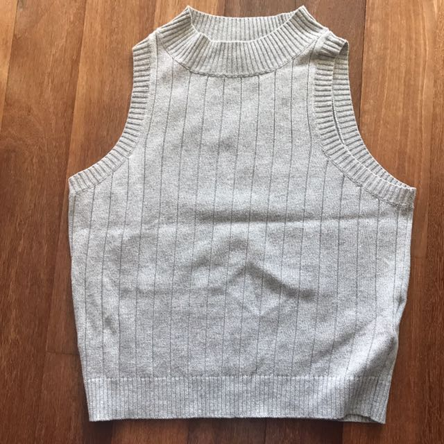 Afends Knit Crop Top Size 6