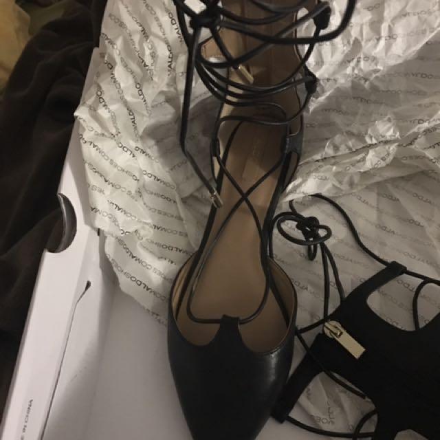 Aldo Strappy Shoes Size7
