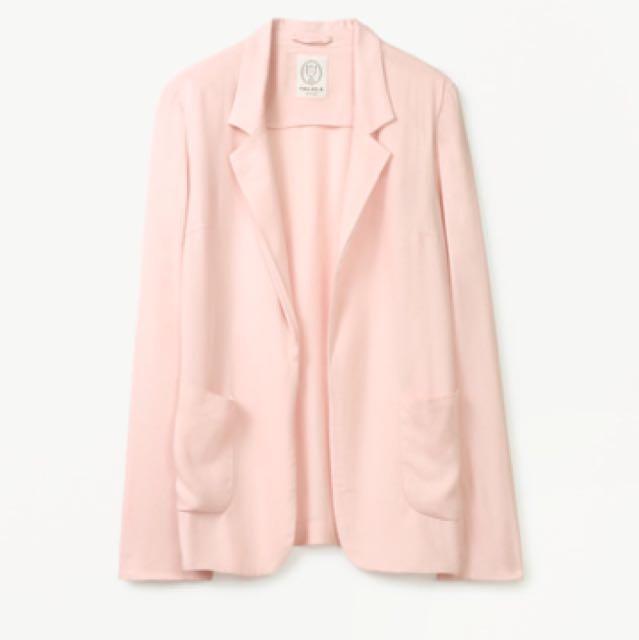 "Aritzia Talula ""Kent"" Pink Blazer"