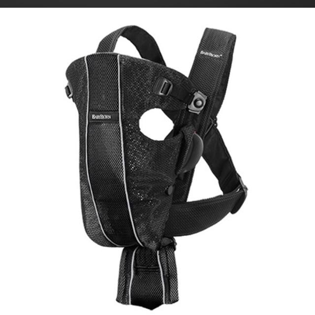 84eeb42c439 Baby Bjorn Original Carrier - Black Mesh
