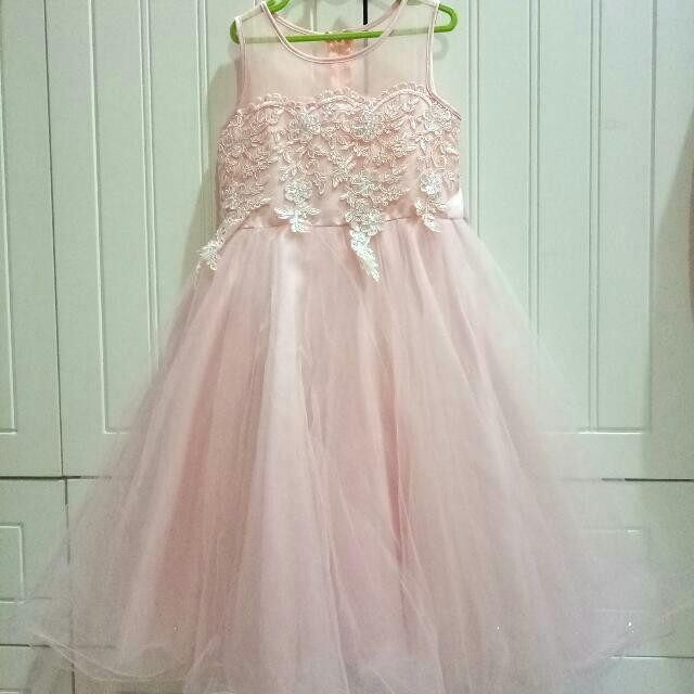 Baju Pesta Party Dress Gown Anak
