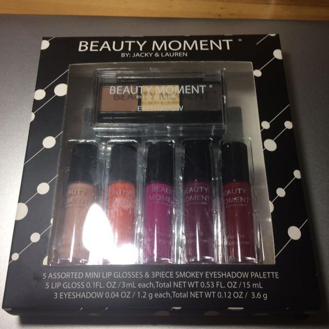 Beauty Moment Lip and Eyeshadow Kit