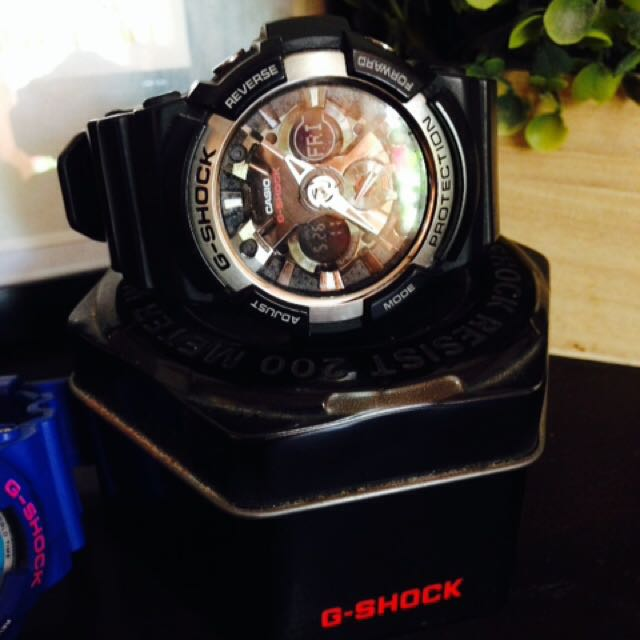 Black G-Shock Rush Sale