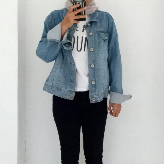 Blue Denim Jaket