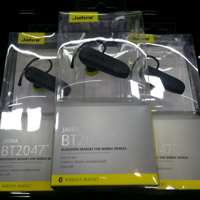 c89cadd300c Jabra BT2047 (1year Warranty), Electronics, Audio on Carousell