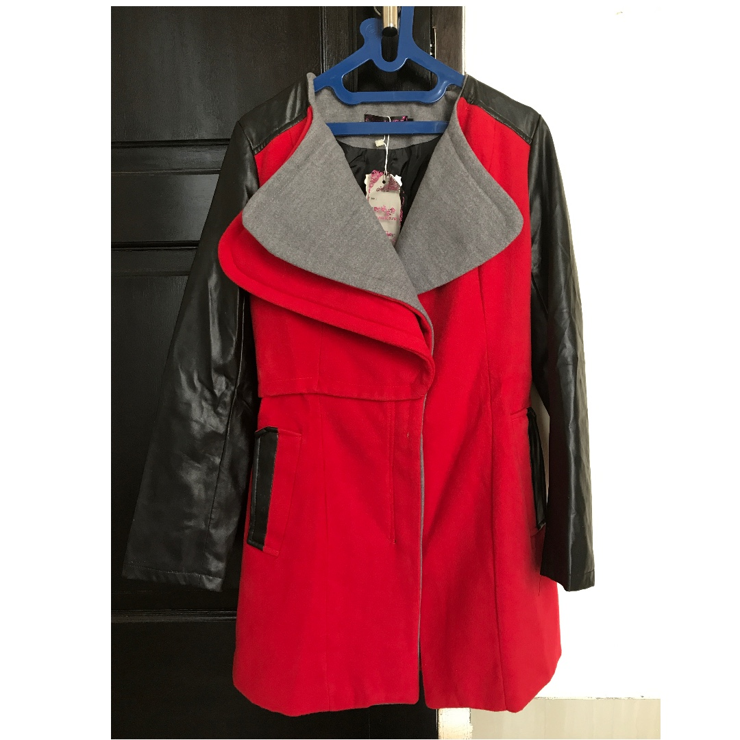 [Repriced!] BNWT Red Coat Import