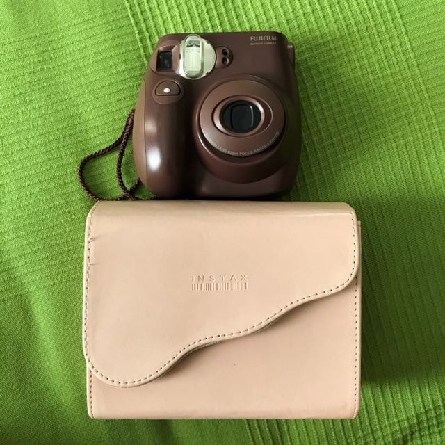 Brown Instax 6s