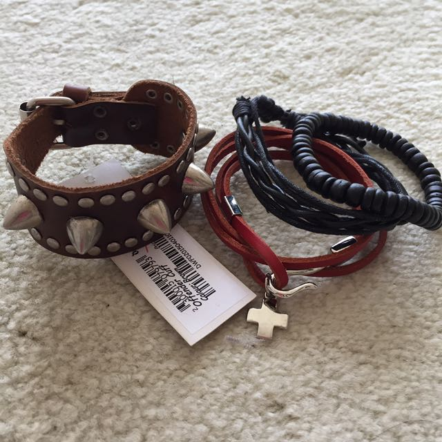 Bundle Of Unisex Bracelets