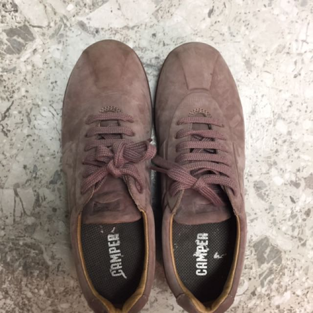 Camper Pink Suede Shoes