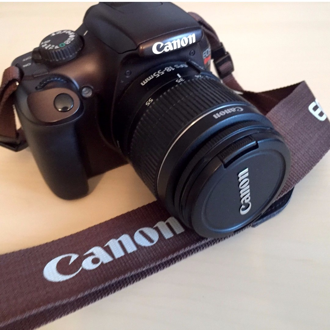 Canon Rebel T3 DSLR Camera (Body only - Brown)