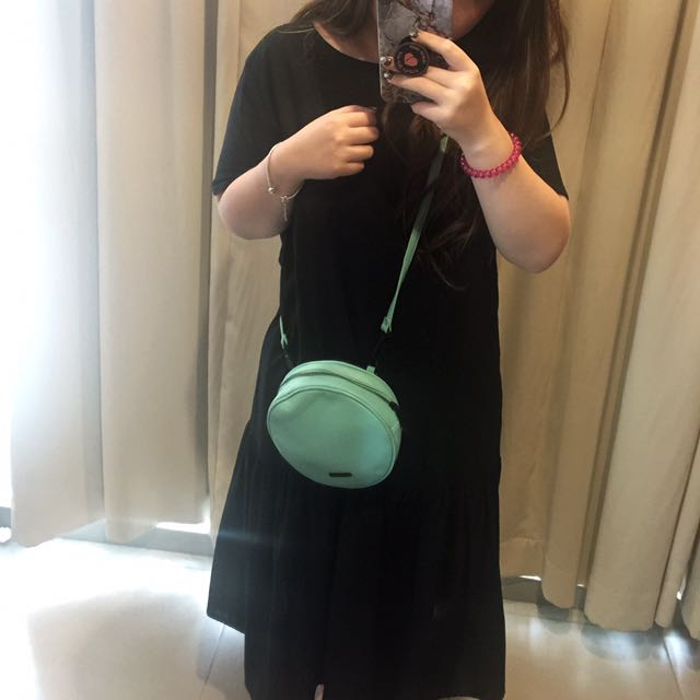 Charles & Keith Round Bag In Tosca