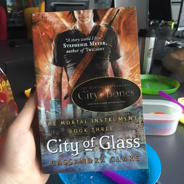 City Of Glass Cassandra Clare Import