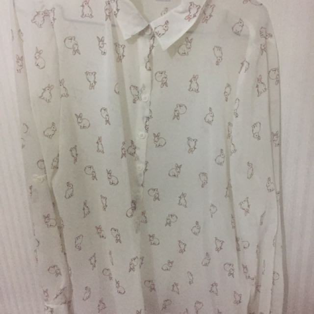 Cotton On Bunny Shirt