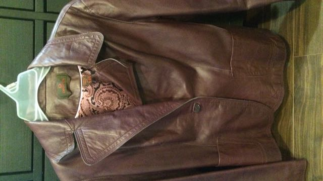 Danier Leather Burgundy Jacket