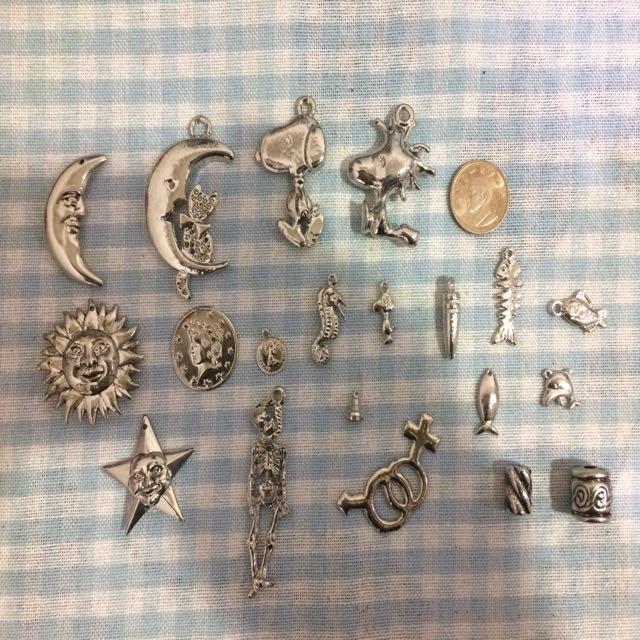DIY 項鍊墜飾 耳環DIY
