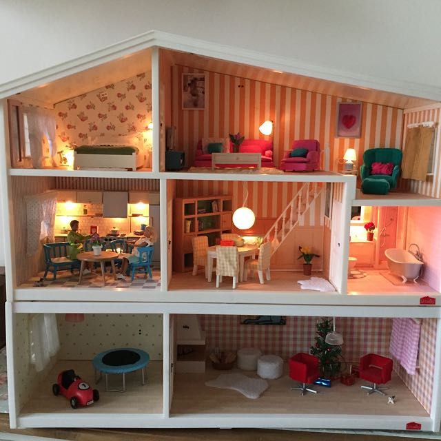 Lundby Doll House Original Germany