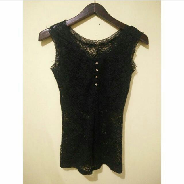 Dress Tangtop Hitam