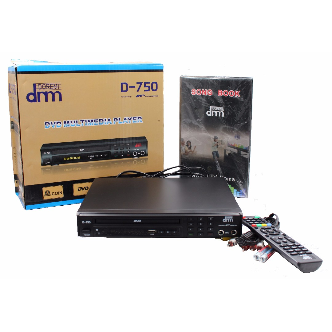 DRM Megapro D-750 DVD Multimedia Player on Carousell