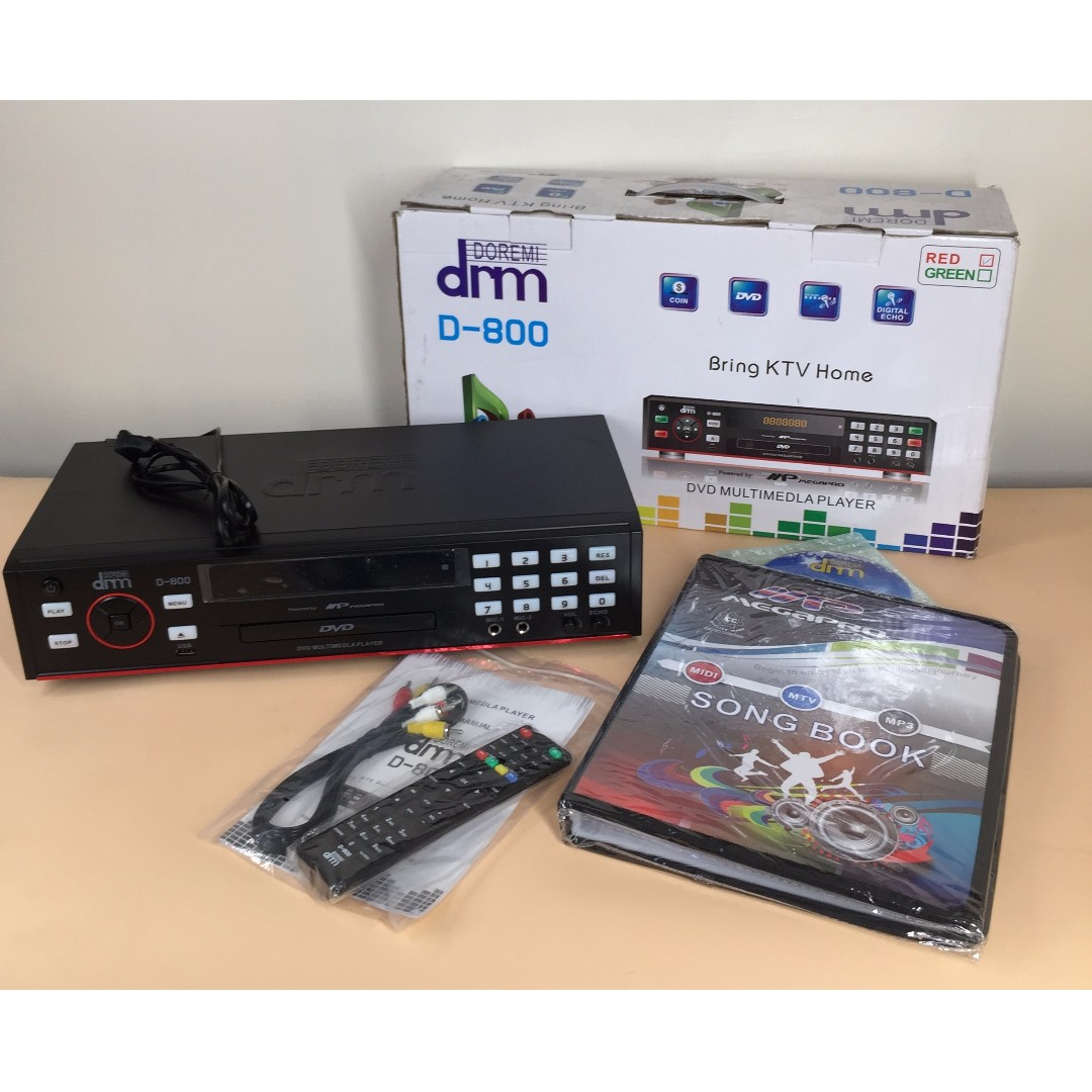 DRM Megapro D-800 DVD Multimedia Player on Carousell