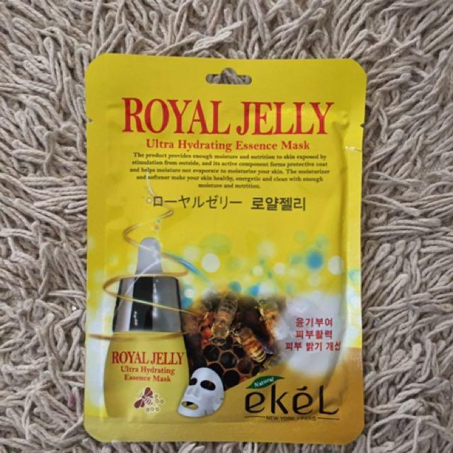 Ekél Royal Jelly Sheet Mask