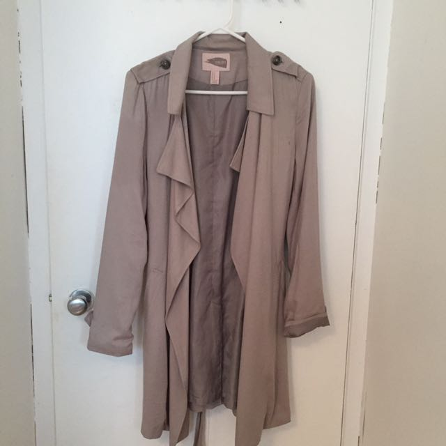 Forever 21 Light Trench Coat