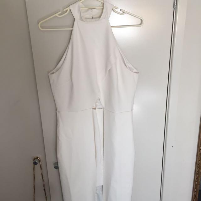 Forever New Off White Evening Dress