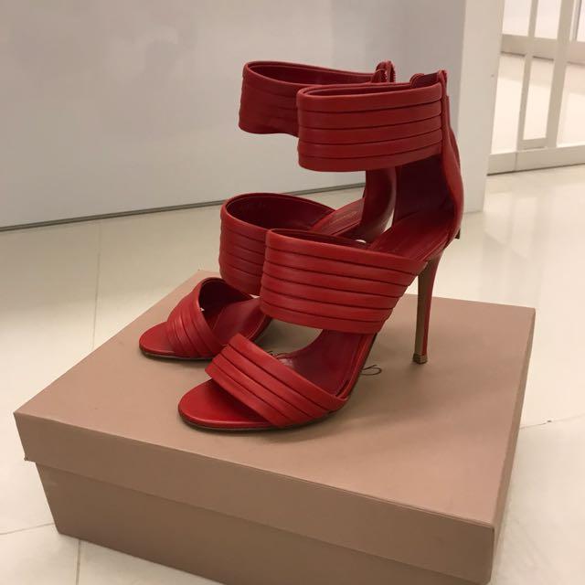 Gianvito Rossi 紅色高跟鞋