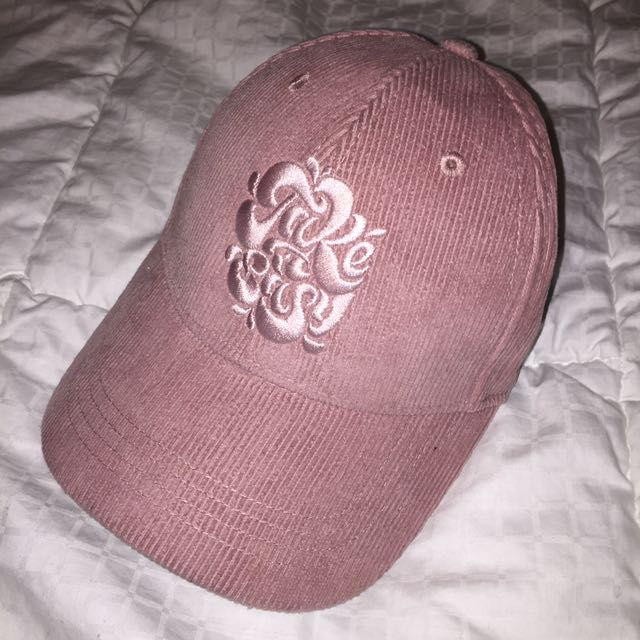 FREE PEOPLE Girl Talk Embroidered Baseball Cap