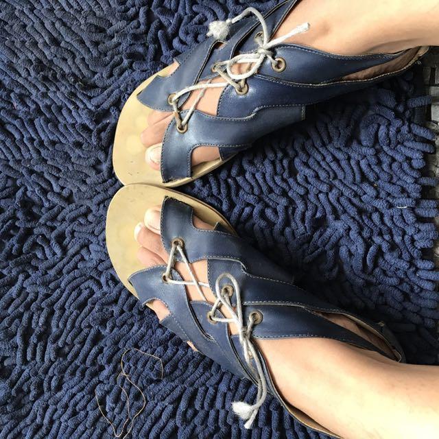 Gladiator Sandal Navy