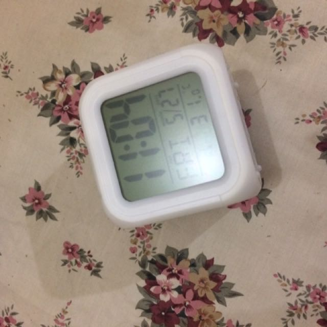 Glowing Led Digital Alarm Clock
