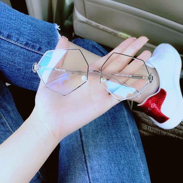 b7a1919e6a Hexagon Eyeglasses Frame (Prescription Glasses)