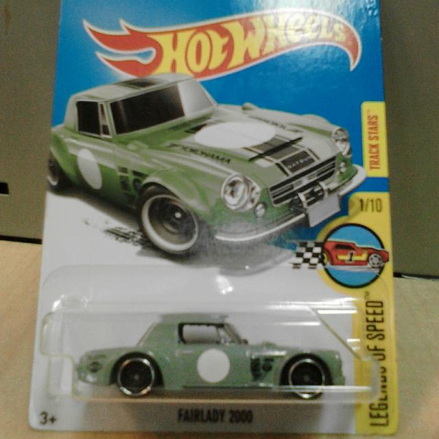 Hot Wheels Datsun FAIRLADY 2000 Hijau Green
