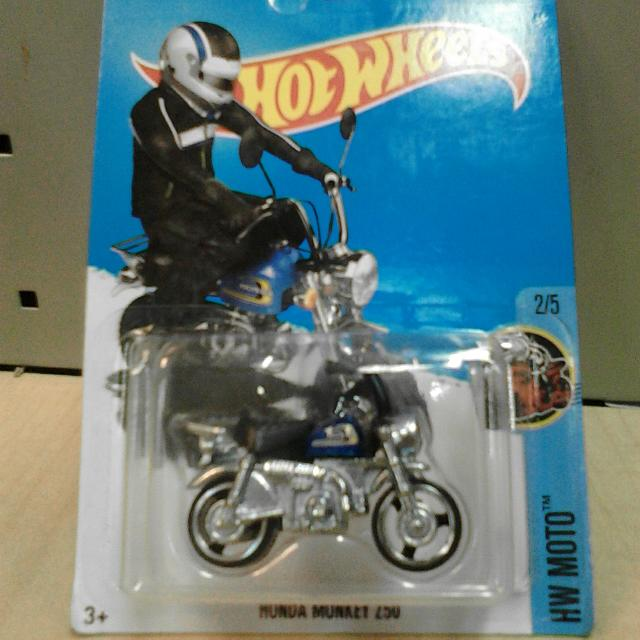Hot Wheels HONDA MONKEY Blue Biru