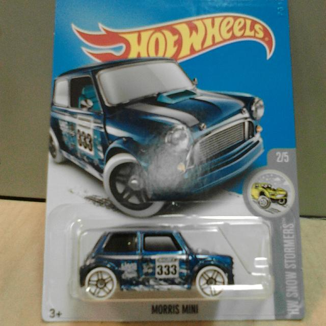 Hot Wheels MORRIS MINI Dark Blue Biru Tua