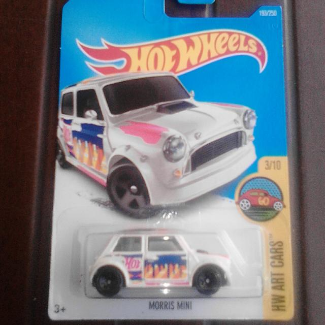 Hot Wheels Morris Mini Putih White