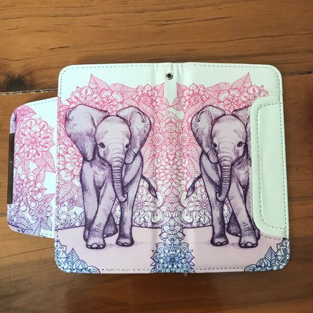 iPhone 6 Elephant Design Wallet Case