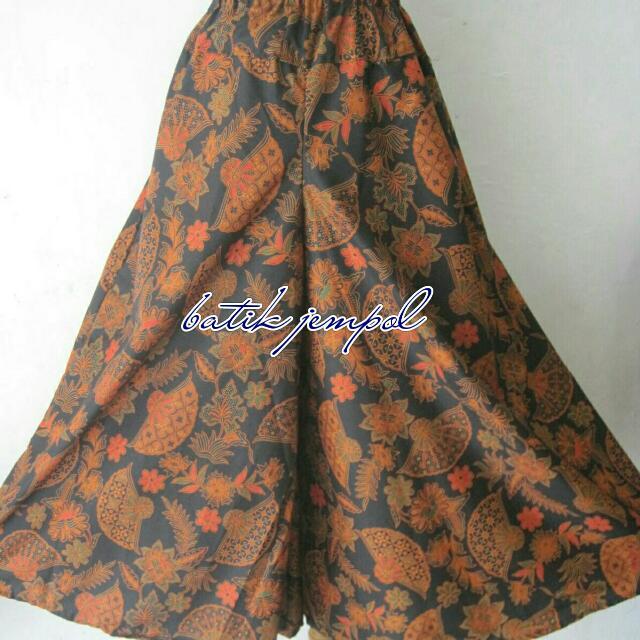 Kulot Batik Motif Kipas