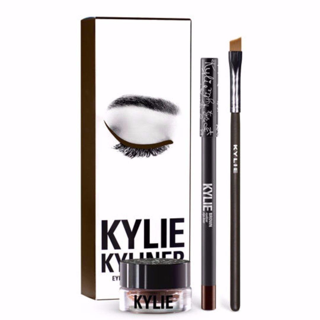 KYLIE JENNER KYLINER NEW IN THE BOX BRONZE CHAMELEON & BROWN NEW IN THE BOX