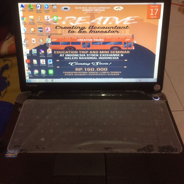 JUAL CEPAT  Laptop Toshiba!!!