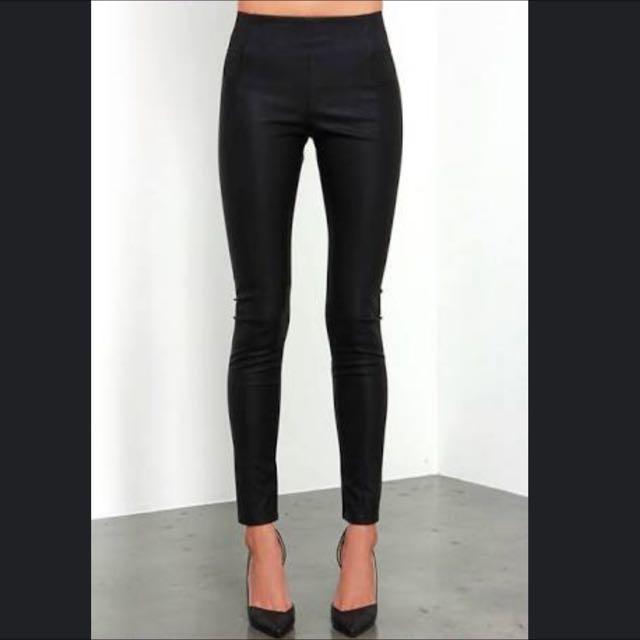 leather legging pants (look alike)
