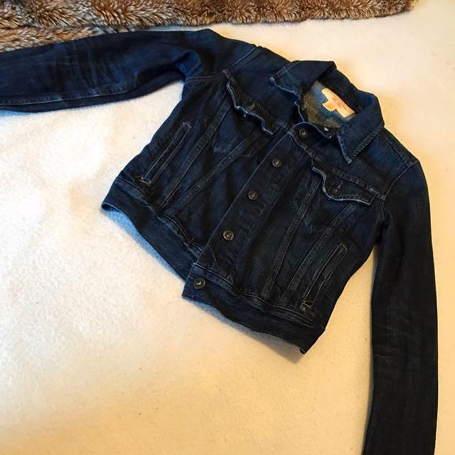 Levi Dark Denim Jacket
