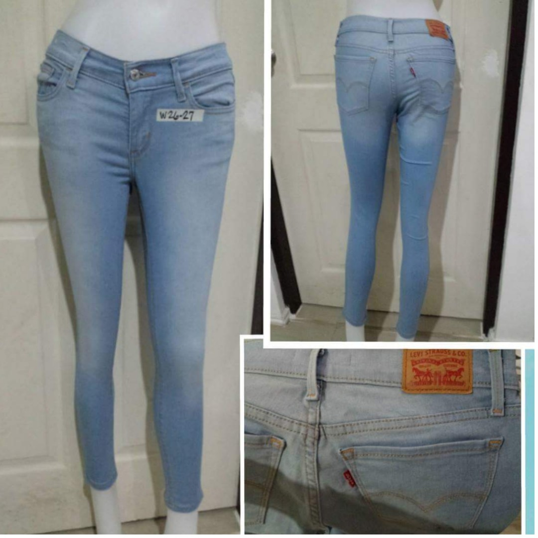 Levis skinny jeans for her