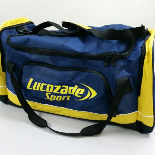 Lucozade Large Sports Duffel Bag